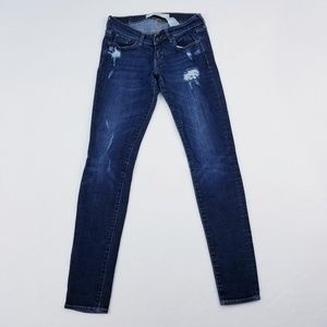 Ambercrombie and Fitch Brett skinny Jean's 0